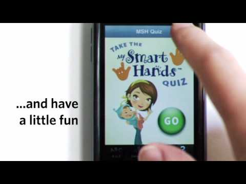 Baby Sign Language iPhone App - My Smart Hands