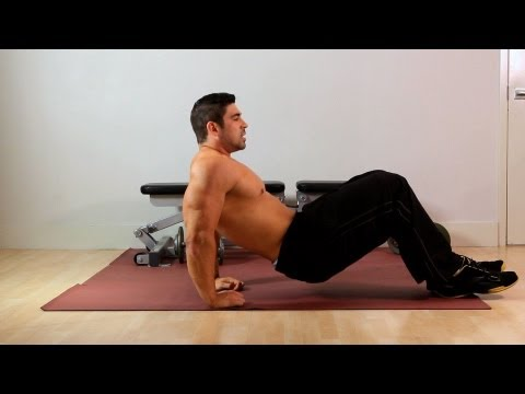 Crab Dip | Home Arm Workout for Men