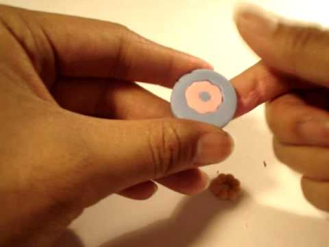 DIY Deco Den How To Use Bubble Donut Flexible Mold and Mix Acrylic Paint in Resin Clay
