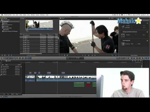 Methods of Moving Clips into the Timeline - Final Cut Pro X