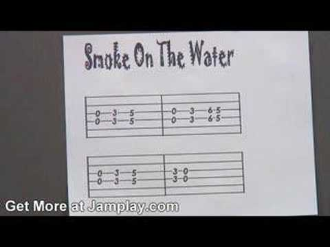 Guitar Lesson - Smoke on the Water
