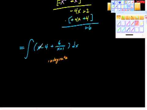 Indefinite Integral Marathon Part Three AP Calculus