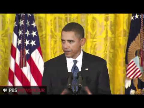 President Obama Makes Opening Statement at Friday Press Conference