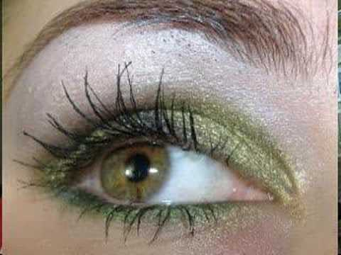 YOUTUBE REQUEST for BRIGHT GREEN SMOKING EYES w/ MAC makeup