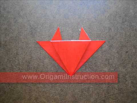 How to Fold Easy Origami Crab - OrigamiInstruction.com
