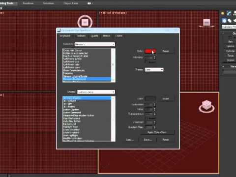 3DS Max 2012 Tutorial - Customizing the User Interface