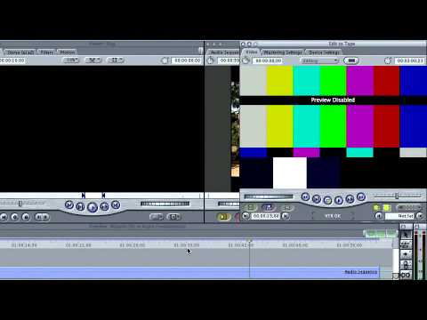Final Cut Pro 5 ch6: Making an Insert Edit on Your Master