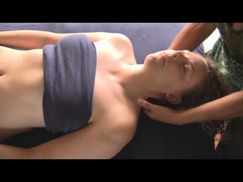 Neck Massage Therapy; Swedish Techniques; Complete Body Part 6
