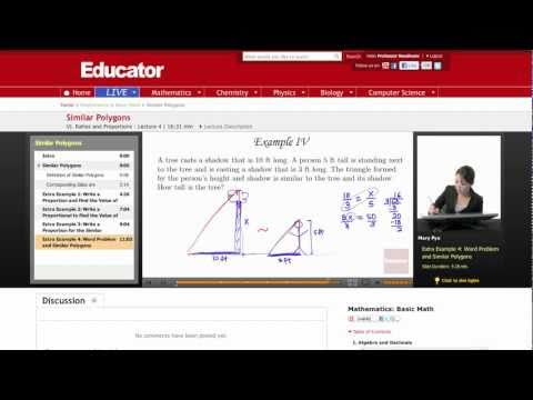 Basic Math: Similar Polygons