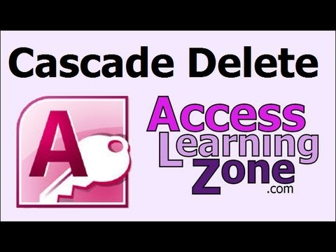 Microsoft Access Tip: Cascade Deletes and When Records are Deleted
