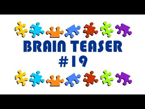 Video Brain Teaser #19