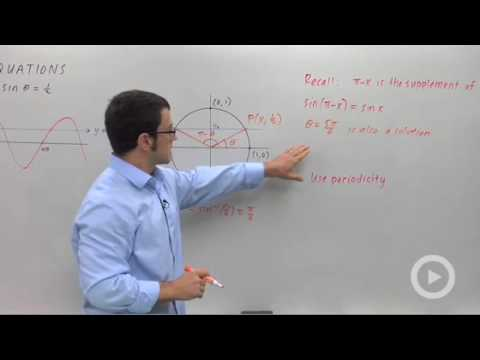 Trigonometry - Solving Trigonometric Equations