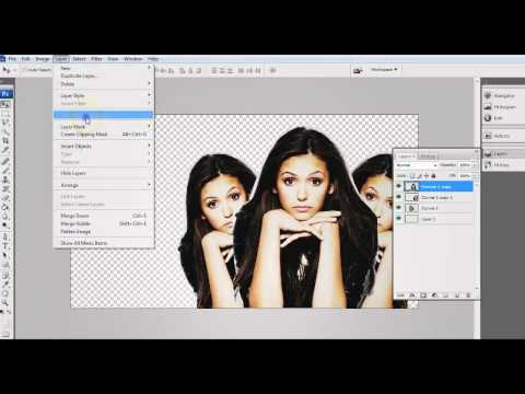 Photoshop Tutorial    Background Type 5