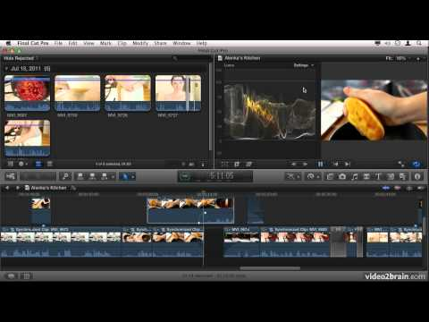 Exploring the Interface and Features of Final Cut Pro X