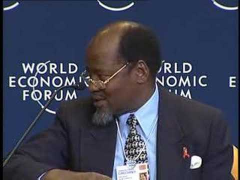 Davos Annual Meeting 2004 - Investment in Global Health