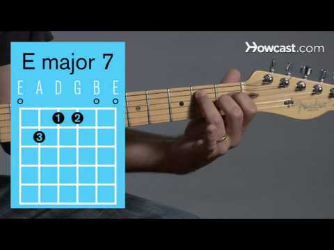 How to Play Guitar: Beginners / Barre Chords: A Major 7