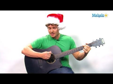 How to Play O Holy Night on Guitar