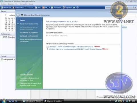 El Calendario de Windows Vista