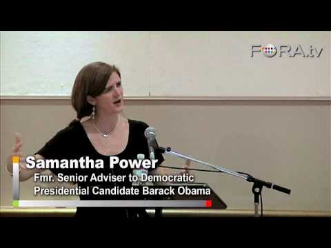 Samantha Power - Obama's Approach to Foreign Policy