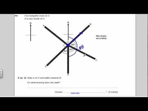 AQA Maths GCSE Unit 3 Practice Paper 1 solutions