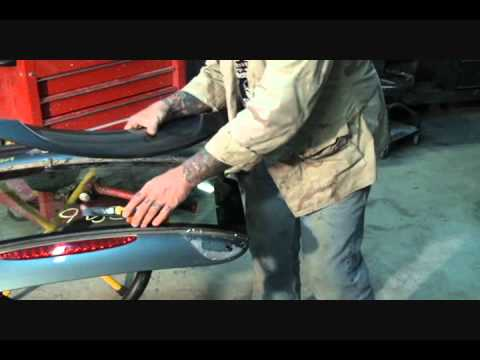 DIY-Collision Repairs-L.K.Q. Replacement Parts-Getting The Decklid Ready For Paint. Part 3