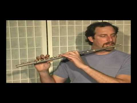 Flute Lesson - How to play Minuet in G #2 by J S Bach