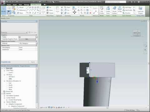Autodesk Revit Architecture 2011 Conceptual Design Enhancements