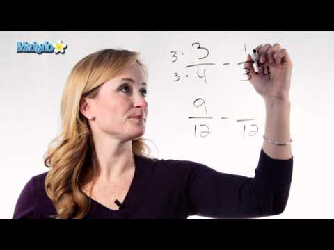 Learn Fractions: How to Subtract Fractions