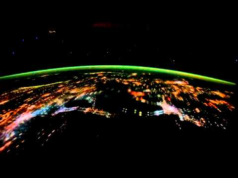 Night Pass over Central Africa and the Middle East