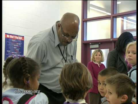 Security Monitor Richard Little Ensures a Safe School
