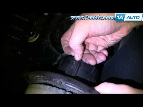 How To Install Repair Replace AC Heater Fan Blower Motor Dodge Ram 02-08 1AAuto.com