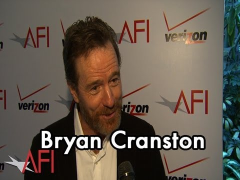 Actor Bryan Cranston on BREAKING BAD at the AFI Awards