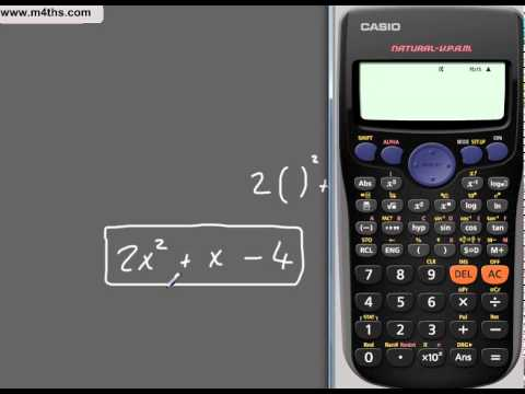 Using the Casio fx-82ES calculator Full GCSE foundation tutorial with some higher material