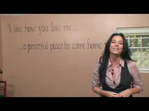 Room Decorating Ideas: How to Stencil a Wall Mural - Home Made Simple