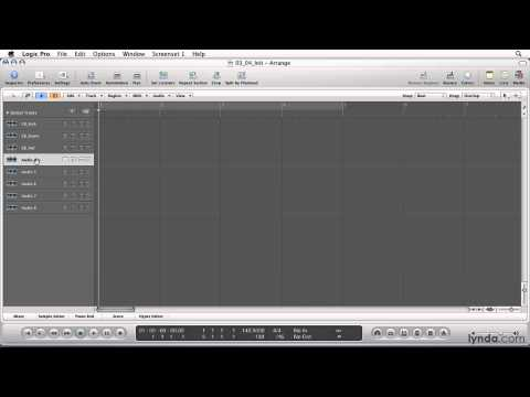 Logic Pro: Recording live instruments and vocals using multitrack recording | lynda.com
