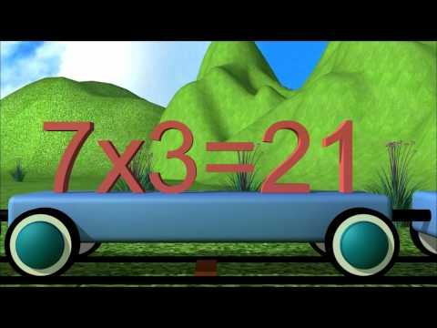 Multiplication Table 7