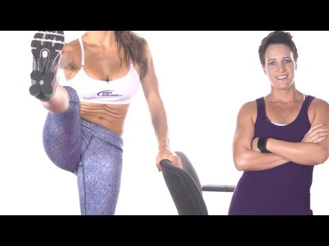 How to Do a Linear Leg Swing - Myrtl Exercises for the Hip Girdle