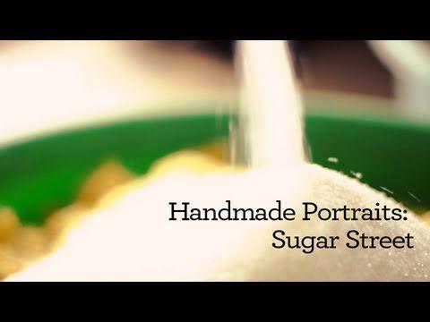 Handmade Portraits: Hanoi's Sugar Street