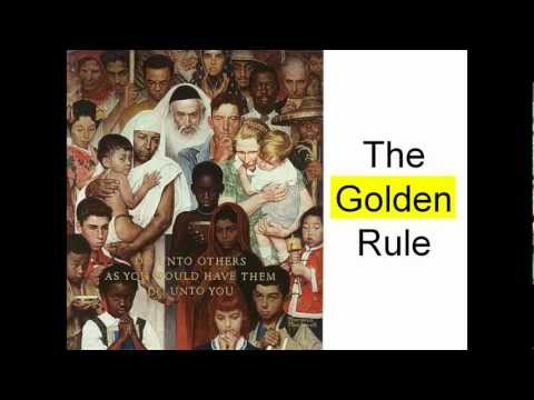 The Golden Rule - for kids