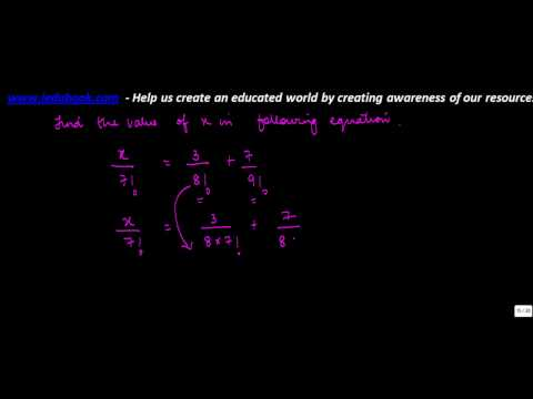 722.Permutation and Combination   Computing x value when several factorial notations given