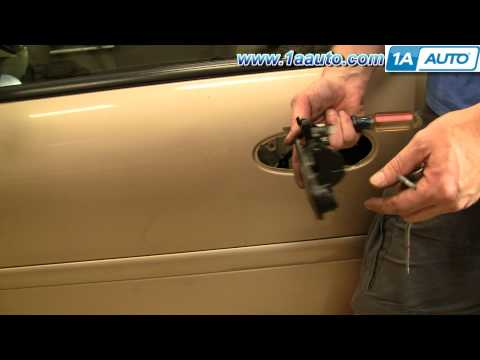 How To Install Replace Broken Exterior Door Handle Chevy Malibu 97-03 1AAuto.com