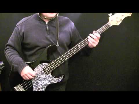 How To Play Bass Guitar to China Girl - David Bowie - Carmine Rojas