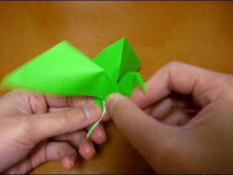 origami flapping bird 2