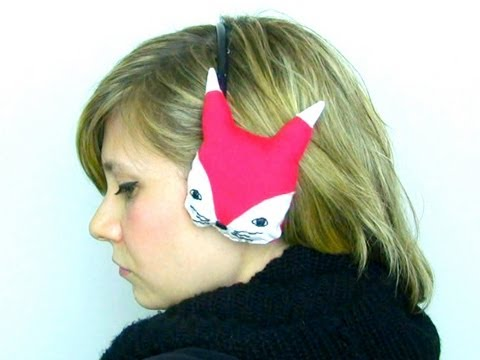 How-to: Meg's Fox Earmuffs