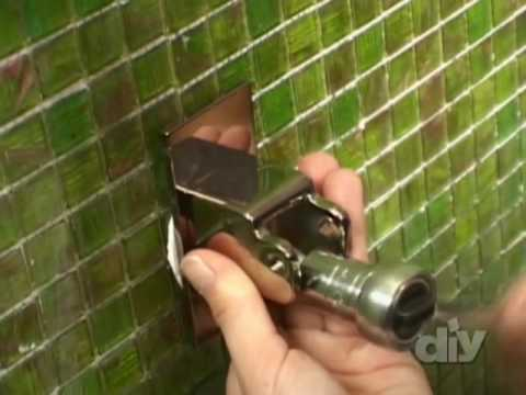Bathroom Shower Fixture-DIY