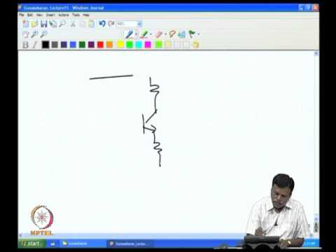 Mod-01 Lec-03 Some applications of transistor -1