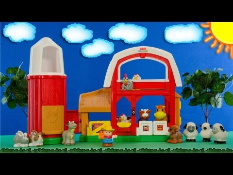 Old MacDonald Had A Farm Starring the Fisher Price Little People - Songs for Children