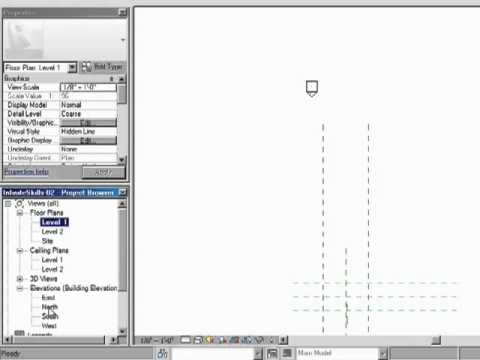 InfiniteSkills Tutorial | Revit Architecture Drawing Area | Training Essentials