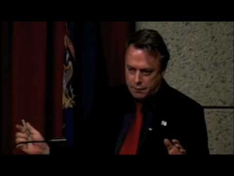 Christopher Hitchens on Jefferson and Bush (8 of 8)