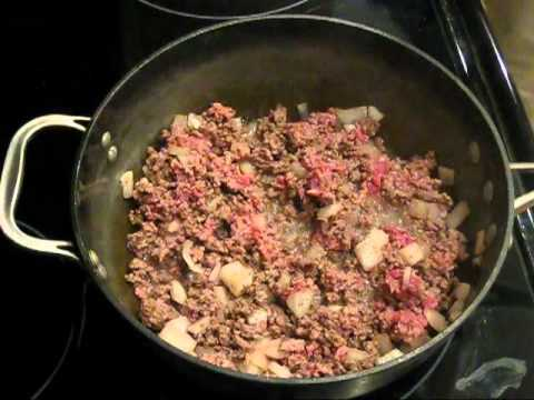 How to Make Beef and Bean Burritos